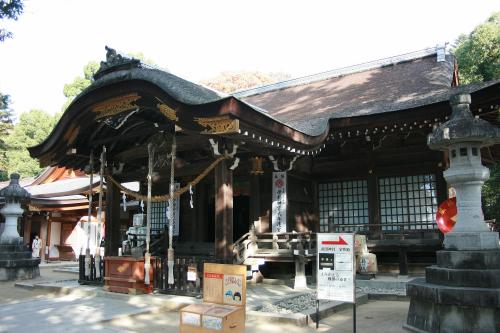 鑁阿寺ほどの歴史は無いが、良い神社です