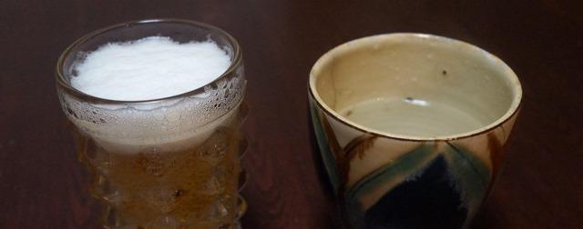 ビールのチェイサーにお湯がよいと聞いた