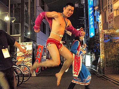 うらやましー!宴会の最中のモンゴル相撲は楽しかったね。