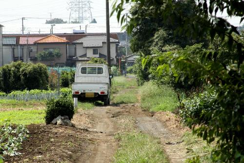 まっこと、未舗装路が似合う車である