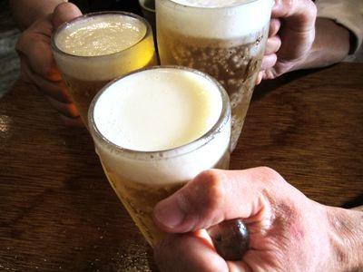 とりあえずビールで。