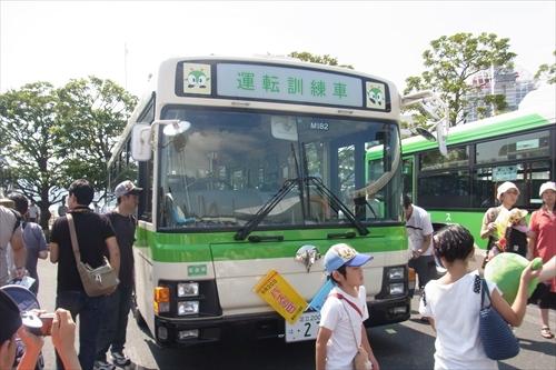 路線バスの運転訓練専用の車両