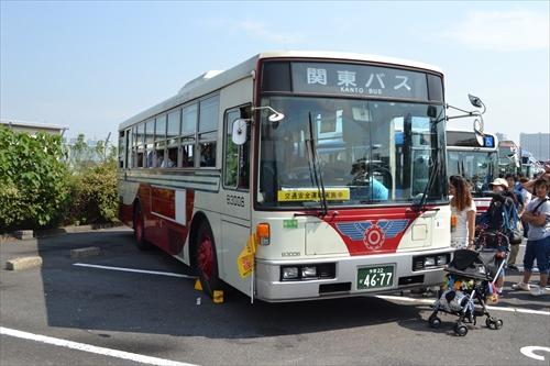 関東バスの珍しい車両