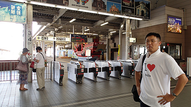 というわけでJRの駅に来ました。