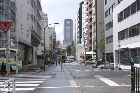 渋谷のセルリアンタワーが見えてる