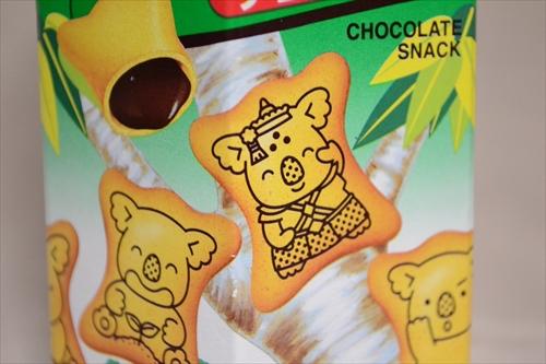 台湾のコアラのマーチにはよくわからない格好のコアラがいる台湾の民族衣装?