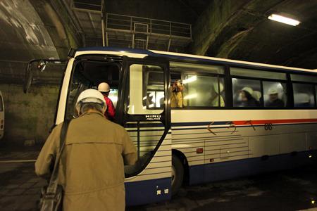 ここにきて普通のバス登場