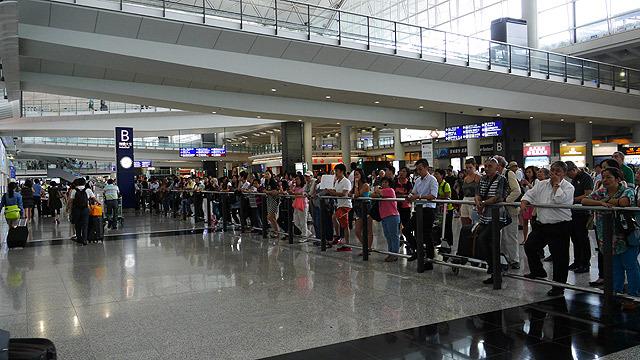 でも、香港に到着しました!