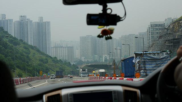 香港の街並