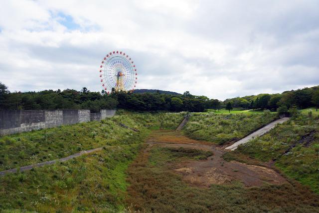富士の裾野をたんのうします。