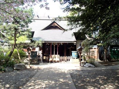 ときわ台の天祖神社。かなり歴史のある神社です。