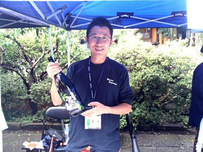 麻原酒造の吉野さん、ありがとうございました! 0