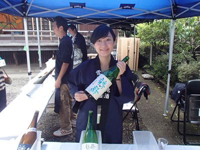 青木酒造の目崎さん、ありがとうございました!
