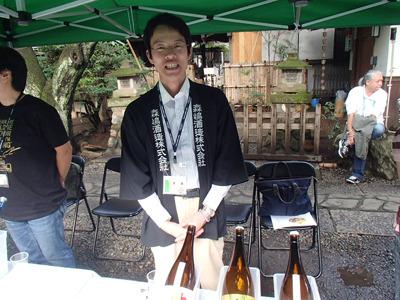 森島酒造の森嶋さん、ありがとうございました!
