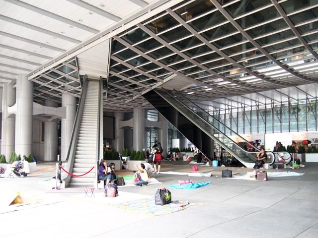 香港の銀行、HSBCのエスカレーターのつけかたなんかは、すごく好みだ。階段?エレベーター?なんで?エスカレーターであがってこいよ!と言わんばかりの俺様っぷり。惚れる。
