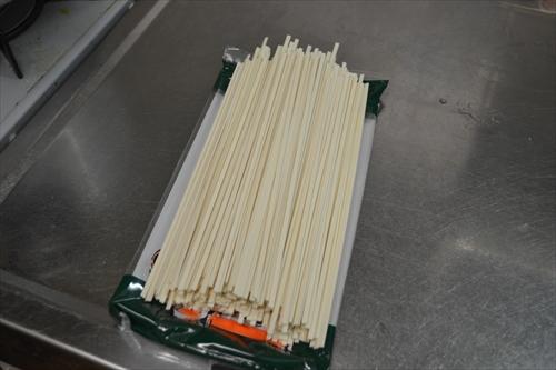 乾麺のうどん(イメージ)