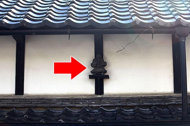 これなんか屋根に付いていないし。多分これも鍾馗様。