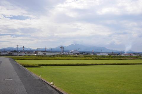 なにかが大きくまちがってるなと思ったらこれ芝を植えて全国のゴルフ場に販売してるそうだ。うっかり入らなくてよかった。