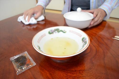 黄金色のうまそうなスープ