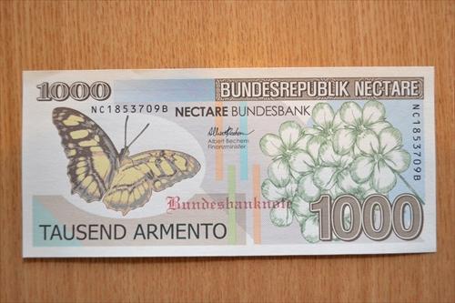 ネクターレ連邦銀行券 1000アルメント紙幣