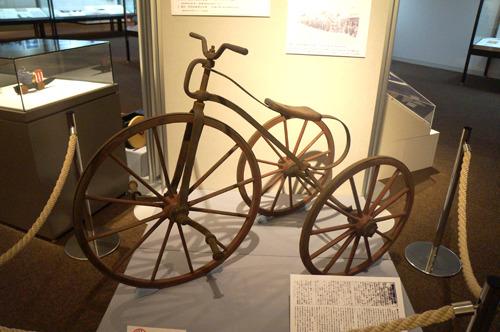 そのほかにも特別展には貴重な自転車が
