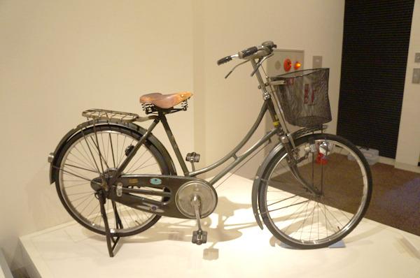 かと思えばふつうの自転車?
