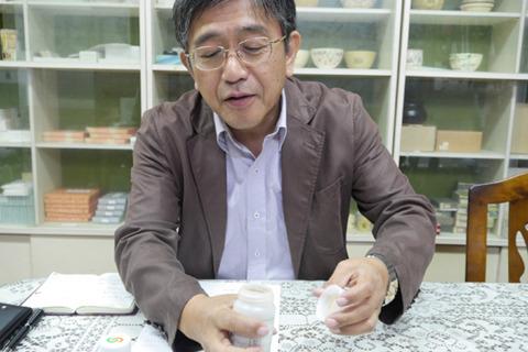 木村飲料三代目の木村社長。わざわざこのコーラナッツを用意してくれてた