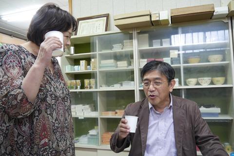 木村「いいじゃないですか」奥さん「薬くさくない?」すいません……