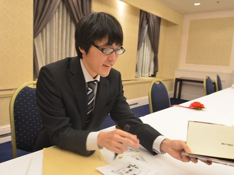 鮎川哲也賞受賞の市川哲也さん。ペンネームではなくご本名だそう。