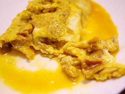 味はもちろんよかったです。タマゴタケとタマゴとバターの組み合わせは鉄板。
