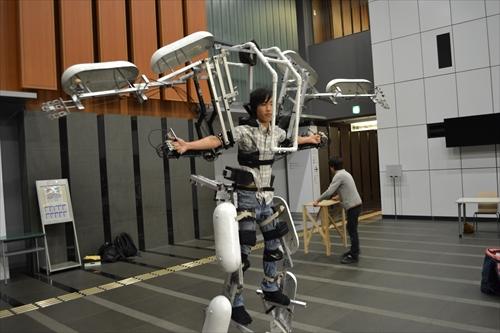 ロボット……ではない、でもカッコイイ!