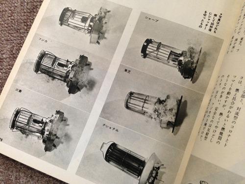 暖房機器についてはやはりガスヒーターなどが登場しつつ石油ストーブは気を吐き続ける。68年第一世紀98号ではストーブを倒すテストも(ストーブによる火事のおそれを重視してくらべていた記事が多かった)