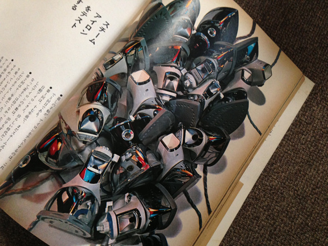 調査写真もそうだが、記事の冒頭写真もぐっとくる。72年20号「スチームアイロンをテストする」。ダフトパンクか。
