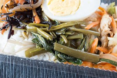 青菜(空芯菜)のにんにく炒め