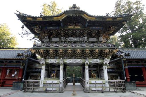 日光東照宮のシンボル、陽明門