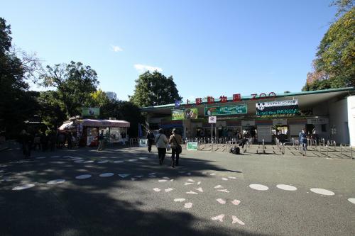 上野動物園入口の、左に伸びる路地を行くと――