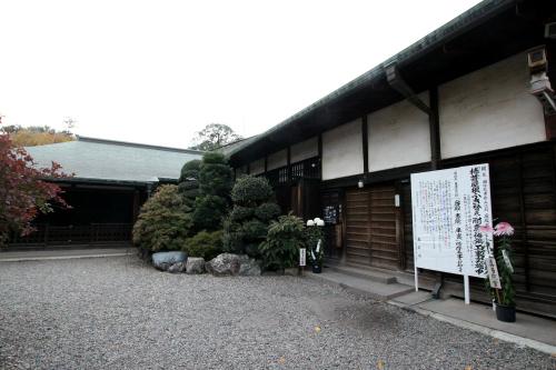 客殿、書院、庫裏は江戸城から移築されたものらしい
