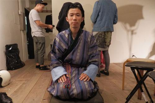 これがブータンの民族衣装