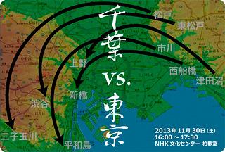 台地の形を重ねたら津田沼は上野に相当します。なんかしっくり。