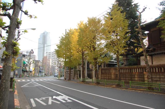 鉄砲洲稲荷神社のある町
