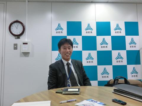 応対してくれたのは、首都高速道路の並川賢治さん