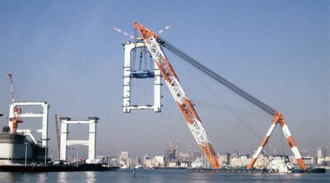 建設がスタートしたのは1990年。ちょうどバブル真っただ中だ
