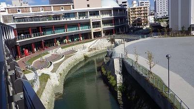 例えば那覇の国際通りを流れる安里川