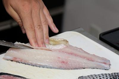 肉の色はかなりきれい。やはり鯛に似ている。
