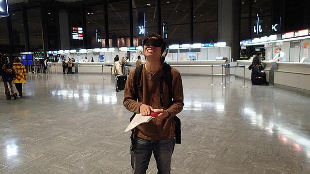 パスポートだ! その瞬間に成田空港と分かった