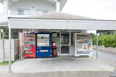 最初のお店は石垣市真栄里、八重山商工高の近くにある商店「ながたや」。