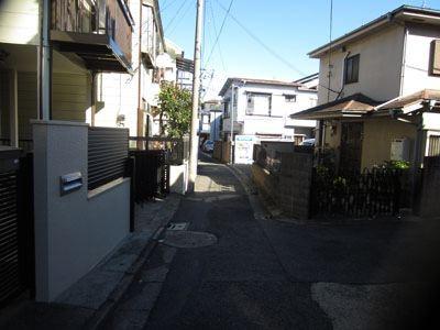 笹塚から徒歩で行ける住宅街。