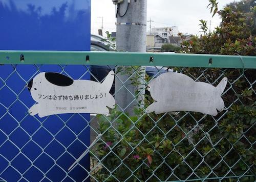 退色したサインが残像のよう。