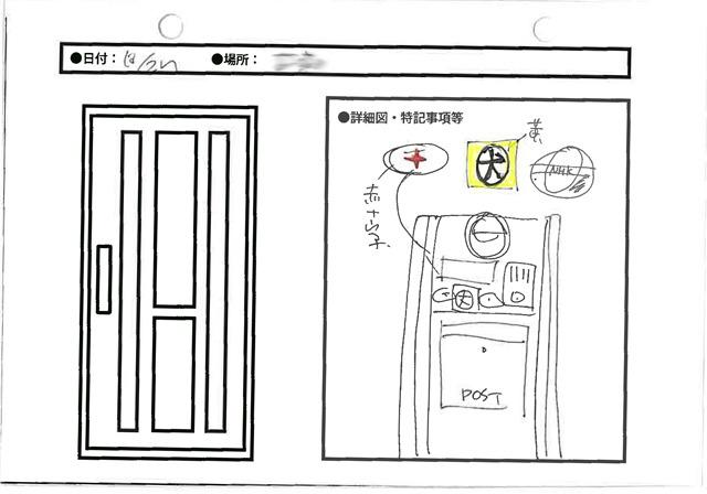 おなじみシール三羽ガラス(犬、赤十字、NHK)がフラットに並ぶ現代的(なにが)な布陣。