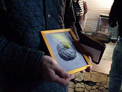 デイリー読者の方が、フレンチクルーラーの遺影みたいな写真を持って応援にきてくれたのも嬉しかった!